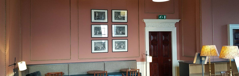 Decorators painters Bristol room
